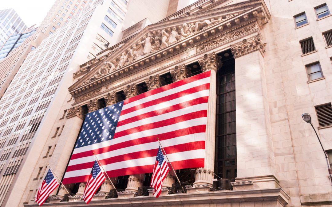 entrance of New York Stock Exchange