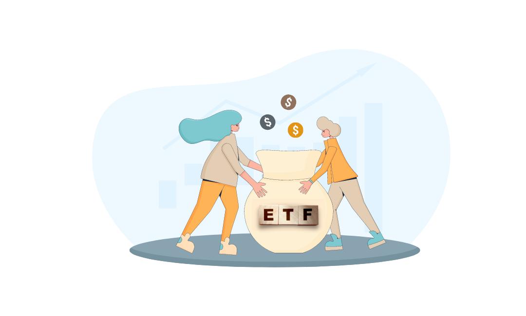 illustration of an ETF